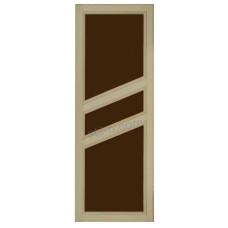 """Дверь банная из липы со стеклом """"ДО-12"""" коробка липа"""