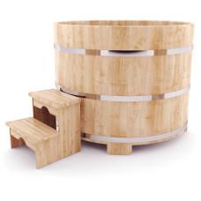 Купель круглая из кедра (D- 110 см. H- 100 см.)