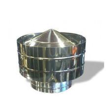 Дефлектор оцинков.+нерж.сталь, D-200х300 мм