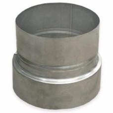 Переходник нерж.сталь, D+130-115 мм., толщина 1 мм.