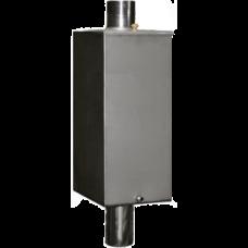 Бак на трубе, нерж.сталь AiSi 304, 80 л. D-115 мм.