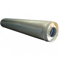 Дымоход Сэндвич нерж.+оцинкованная сталь D-150х230 мм. L- 0,5 м. толщина 1,0 мм.