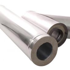 Дымоход Сэндвич нерж.+оцинкованная сталь D-150х230 мм. L- 1,0 м. толщина 1,0 мм.