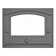 Дверка каминная под стекло ДК-2С (Р) 375x300