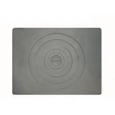 Чугунная плита под казан в печь одноконфорочная,П1-5 705х530 мм
