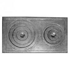 Плита двухконфорочная П2-5 (Т) 760х435мм