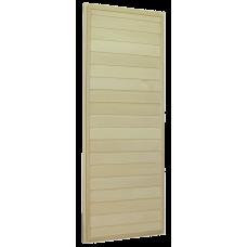 """Дверь банная из липы 170х70 """"ДГ-1"""" (сорт А) коробка сосна"""
