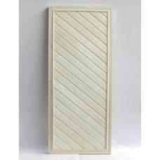 """Дверь банная из липы 170х70 """"ДГ-1"""" (сорт В) коробка сосна"""