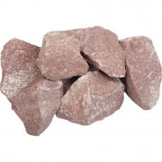 Камни. Малиновый кварцит колотый. 20 кг.