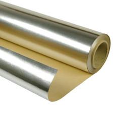 Фольга алюминиевая (на бумажной основе) 18 м2