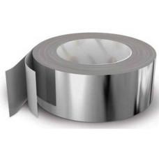 Фольга алюминиевая клейкая 50 мкр. x 25 м.
