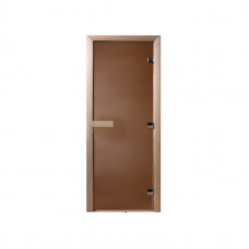 Дверь MAESTRO WOODS стекло БРОНЗА МАТОВАЯ 0.7x2,0 коробка ольха