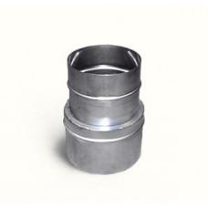 Переходник нерж.сталь, D+115-110 мм., толщина 1 мм.