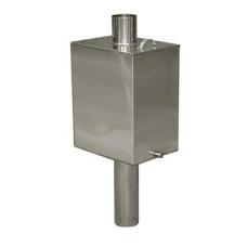 Бак на трубе, нерж.сталь Aisi 430 60 л. D-115 мм.
