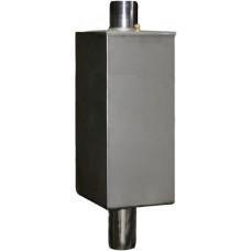 Бак на трубе, нерж.сталь AiSi 430 80 л. D-115 мм.