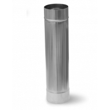 Дымоход труба D-150 мм. L-1,0 м. толщина 1,0 мм.