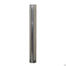 Дымоход Труба нерж. сталь D-115 мм. L-1,0 м. толщина 0,5 мм.