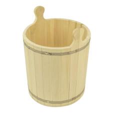 Запарник для бани 25 л липа