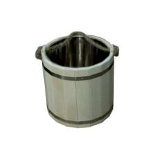 Ведро Емеля 20 л с нержавеющей вставкой (ВН-20)