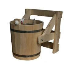 Устройство обливное Водолей 4, материал дуб (нерж)