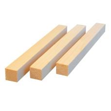 Брус деревянный 40x40 длина 2.0 м. (цена за шт.)