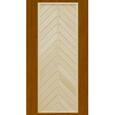 """Дверь банная из липы """"ДГ-1"""" (сорт А) коробка сосна 1800*700"""