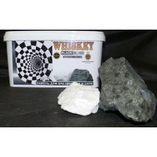 Камни. Whiskey Black silver Пироксенит и Кальцит 11.3 кг.