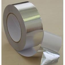 Фольга алюминиевая клейкая 50 мкр. x 10 м.