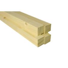 Брус деревянный 50x50 длина 3.0 м. (цена за шт.)