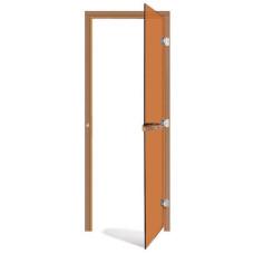 Дверь SAWO 730-3SGD-R 7/19 (бронза, правая, без порога)