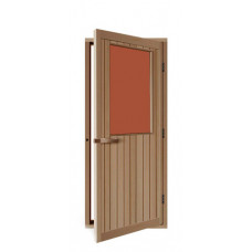 Дверь SAWO 735-4SGD-R 700 x 2040 (бронза, правая, кедр)