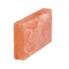 Блок из гималайской розовой соли 300x200x50 мм одна сторона натуральная