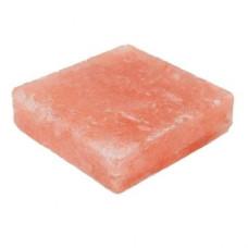 Плитка из гималайской розовой соли 100x100x25 мм шлифованная