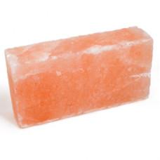 Кирпич из гималайской розовой соли 200x100x50 мм шлифованный