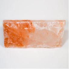 Плитка из гималайской розовой соли 200x100x25 мм с натуральной стороной