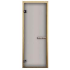 Дверь стеклянная Сатин 1900х700 коробка сосна