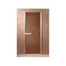 Дверь MAESTRO WOODS стекло БРОНЗА МАТОВАЯ 0.8x2.0 коробка ольха
