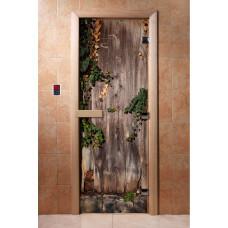 """Дверь с Фотопечатью АКМА """"Дерево"""", 1900x700, стекло 8 мм."""